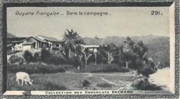 S9  GUYANE CAYENNE Village De Forçats Libérés10,5 X 6,5cm TRADECARD CHOCOLATE Colonies - Vieux Papiers