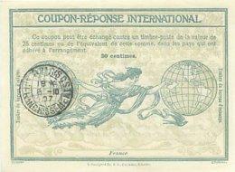 France  -  Coupon Réponse International  30  Cm      P602 - Ganzsachen
