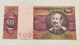 BRAZIL P195AB 100 CRUZEIROS 1981 UNC - Brasile