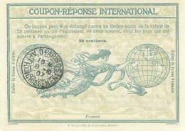 France  -  Coupon Réponse International  30  Cm      P602 - Reply Coupons