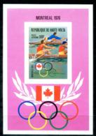5143 - OBERVOLTA / HAUTE-VOLTA - Block 41 B ** - RUDERN / OLYMPIA / OLYMPICS / ROWING - Obervolta (1958-1984)
