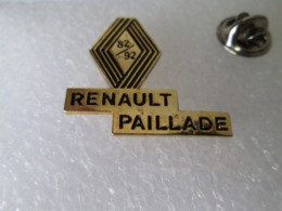 PIN'S    RENAULT  PAILLADE  82/92 - Renault