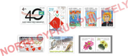 """2019 TURKISH CYPRUS ZYPERN CHYPRE CIPRO """" COMPLETE YEAR SET """" MNH - Chipre (Turquía)"""