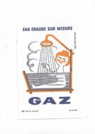 Buvard Ancien Gaz Eau Chaude Sur Mesure - Electricity & Gas