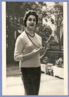 COUPURE De PRESSE 1955 - 17 X 24,5 Cm - PHOTO ACTRICE FRANCOISE FABIAN - CINÉMA FILM - Other Formats