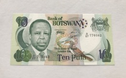 B0SWANA P20A 10 TULA  1999 UNC - Botswana