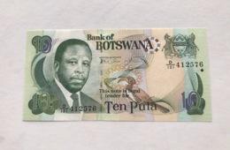B0SWANA P24 10 TULA  2002 UNC - Botswana