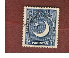 PAKISTAN  -  SG 44   -  1948  CRESCENT    -  USED ° - Pakistan