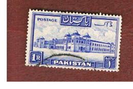 PAKISTAN  -  SG 38   -  1948  HOSTEL, DACCA UNIVERSITY -  USED ° - Pakistan