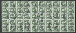 DENMARK Dänemark 1982 Michel 759 Queen Margarethe II As 50-block O - Denmark
