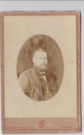 Photo D'un Notable Barbu De L'ile Maurice Octobre 1877 Photographe FONTES & BERANGER (Port Louis) - Anonymous Persons