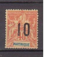 MARTINIQUE        N° YVERT  :    80 NEUF SANS GOMME        ( SG     01/35) - Martinique (1886-1947)