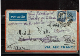 LCTN57/5 -  BRESIL LETTRE AVION AOÛT 1939 - Luchtpost