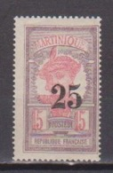 MARTINIQUE        N° YVERT  :    85    NEUF SANS GOMME        ( SG     01/35) - Martinique (1886-1947)