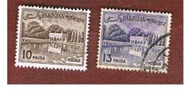 PAKISTAN  -  SG 175.176  -  1961  SHALIMAR GARDENS   -  USED ° - Pakistan