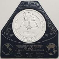 SIERRA LEONE 2019 - Apollo 11, Space S/S Official Issue [SL190819b] - Errori Sui Francobolli