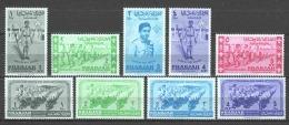 Sharjah 1964 Mi 74-77 + 91-95 MNH SCOUTING - Unused Stamps