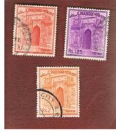 PAKISTAN  -  SG 204.206  -  1963  CHOTA SONA MASIJD   -  USED ° - Pakistan