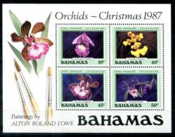 5153 - BAHAMAS - Block 52 ** -  ORCHIDEEN / ORCHIDS - Bahamas (1973-...)