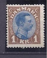 DENMARK1921-2 Michel128 Mh* Cat.Vakue 100Euros - Unused Stamps
