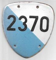 Velonummer Zürich ZH 18 - Number Plates