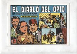 Facsimil: Roberto Alcazar Y Pedrin Numero 0231: El Diablo Del Opio - Livres, BD, Revues