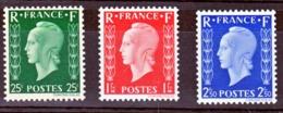 France 701 D/701 F Marianne De Dulac 1 Timbre Signé Neuf ** TB  MNH Sin Charnela Cote 135 J - France