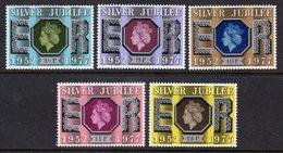 GREAT BRITAIN GB - 1977 SILVER JUBILEE SET (5V) FINE MNH ** SG 1033-1037 - 1952-.... (Elizabeth II)