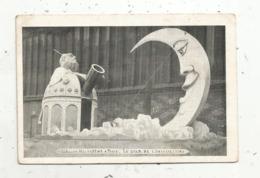 Cp , Astronomie , 1912 ,la MI-CAREME à PARIS ,le Char De L'Observatoire , Ed. Chocolat Devinck , 2 Scans - Astronomia