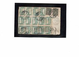 LCTN57/5 -  TURQUIE GRAND FRAGMENT DE LETTRE POUR ALGER FEVRIER 1924 - Covers & Documents