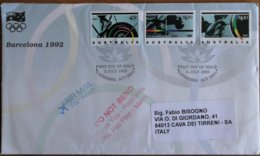 Australia 1992 - Paralympic Games Barcelona 1992 - FDC - Summer 1992: Barcelona