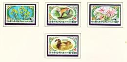 GHANA  -  1972 Flora And Fauna Set Unmounted/Never Hinged Mint - Ghana (1957-...)