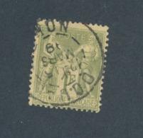 FRANCE - N°YT 82 OBLITERE CAD DOUAI DU 15/03/1889 - COTE YT : 8€ - 1876-1898 Sage (Type II)