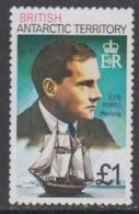 British Antarctic Territory 1980 GBP 1.00  John Rymill / Penola  Perf 12 ** Mnh (44956) - Brits Antarctisch Territorium  (BAT)
