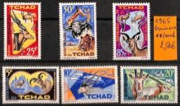 D - [821322]TB//**/Mnh-Tchad 1965 -  Animaux - Chad (1960-...)