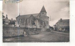 Gouex, Le Centre Du Bourg Et L'Eglise Saint Medard - France