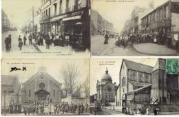 LE HAVRE, RUE DE NORMANDIE ET EGLISES, LOT 4 CPA - Le Havre