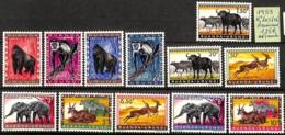 D - [825220]TB//**/Mnh-Ruanda-Urundi 1959 - N° 205/16,  Animaux, SNC - Ruanda-Urundi