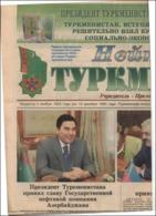 TURKMENISTAN President GURBANGULDY BERDYMUKHAMEDOV Newspaper NEUTRAL TURKMENISTAN 152 - Livres, BD, Revues