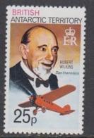 British Antarctic Territory  1980 25P Hubert Wilkins / San Francisco Perf.12  1v ** Mnh (44956B) - Brits Antarctisch Territorium  (BAT)