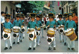 Carte Postale 64. Ustaritz  Folklore Vaco  Les Tambourgs  Harmonie  Sinki Trés Beau Plan - Frankrijk