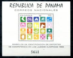 5164 - PANAMA - Block 103 ** -  OLYMPIA / OLYMPICS - Panama