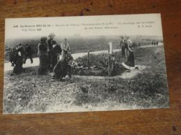 La Guerre De 1914-15-16/ Bataille De L'OURCQ - NEUFMONTIERS - Le Pélerinage Sur Les Tombes De Nos Braves Défenseurs - France