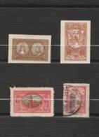 Lituanie Lot 4 Timbres Lituanie Centrale Année 1921 Mi PL-ML 37 B Mi PL-ML 38 B Mi PL-ML 35 A - Lituanie  1927 MiLT 272 - Lituanie