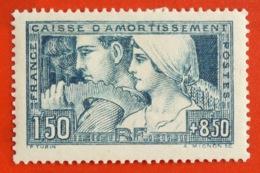 Caisse D'amortissement Allégorie Du Travail 1928 Y&T N° 252 * - Francia