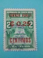 COSTA RICA - Lot De 3 Timbres - Costa Rica