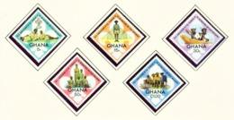 GHANA  -  1972 Scouts Set Unmounted/Never Hinged Mint - Ghana (1957-...)