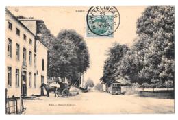 Rosée (Florennes) Route De Philippeville Tram Tramway Hotel Bon état 1924 - Florennes