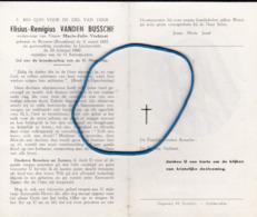 DP Elisius-Remigius VANDEN BUSSCHE Beveren (Roselare) 1885-1960 Lichtervelde - Religión & Esoterismo