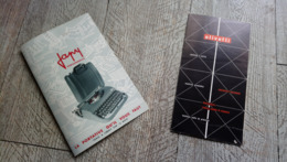 Brochure Machine à écrire Japy Olivetti - Frankreich